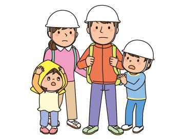 【地震だ!】避難・持ち物・連絡方法などを共有しておこう~重要~